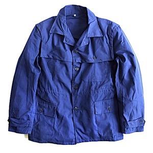 セルビア軍放出ワークジャケット中古 ネイビー 48サイズ