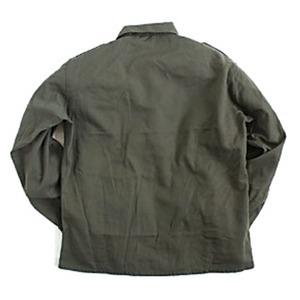 オーストリア軍 放出フィールドシャツ【中古】 オリーブ系 96-100(L相当)