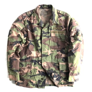 スロバキア軍放出M97カモフラージュジャケット【中古】 (50サイズ) - 拡大画像