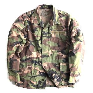 スロバキア軍放出M97カモフラージュジャケット【中古】 (53サイズ) - 拡大画像