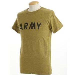 USタイプARMYオバーダイTシャツ  S  オバーダイイエロー