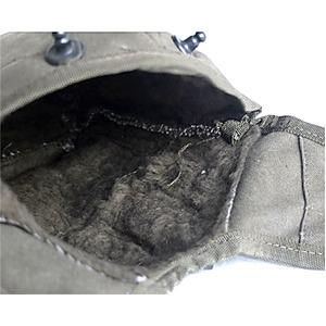 イタリア軍放出アルミカンティーン オリーブ コットンカバー付デットストック未使用