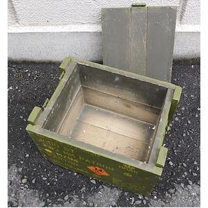 デンマーク軍 放出アミッションボックス1個【中古】