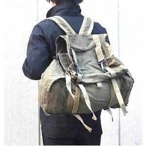 イタリア軍 放出AF麻キャンパスリュックサック【中古】の商品画像