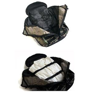 モール対応防水布仕様中央ジッパー式アサルト3DAYリュックサック  コヨーテブラウン f04