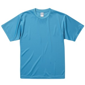 UVカット・吸汗速乾・3.8オンスさらさらドライTシャツ同色10枚セット 150cm ターコイズ h01