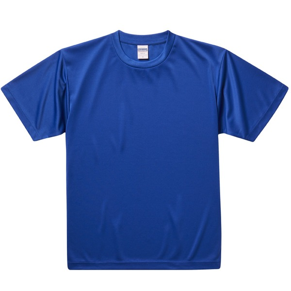 UVカット・吸汗速乾・3.8オンスさらさらドライTシャツ同色10枚セット M コバルトブルーf00