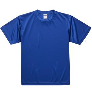 UVカット・吸汗速乾・3.8オンスさらさらドライTシャツ同色10枚セット XL コバルトブルー h01