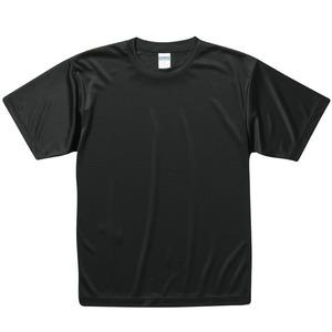 UVカット・吸汗速乾・3.8オンスさらさらドライTシャツ同色10枚セット L ブラック h01