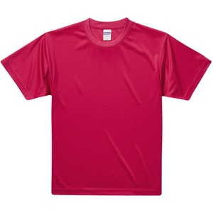 UVカット・吸汗速乾・3.8オンスさらさらドライTシャツ同色10枚セット 150cm レッド h01