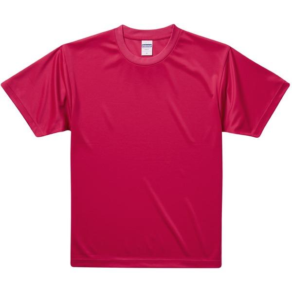 UVカット・吸汗速乾・3.8オンスさらさらドライTシャツ同色10枚セット XL レッドf00