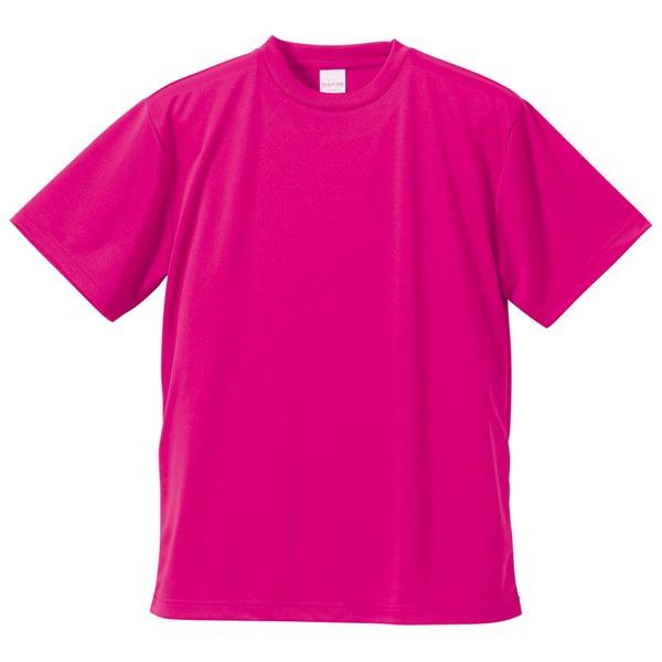 UVカット・吸汗速乾・3.8オンスさらさらドライTシャツ同色10枚セット XL トロピカルピンクf00