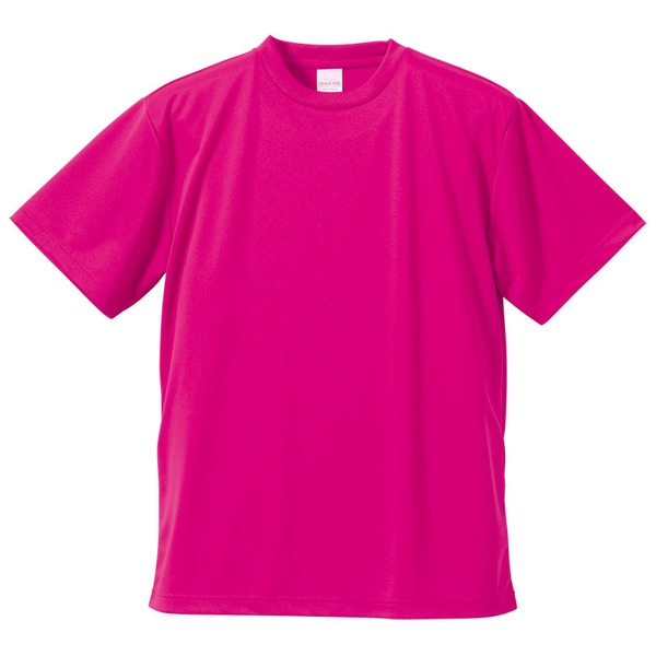 UVカット・吸汗速乾・3.8オンスさらさらドライTシャツ同色10枚セット M トロピカルピンクf00