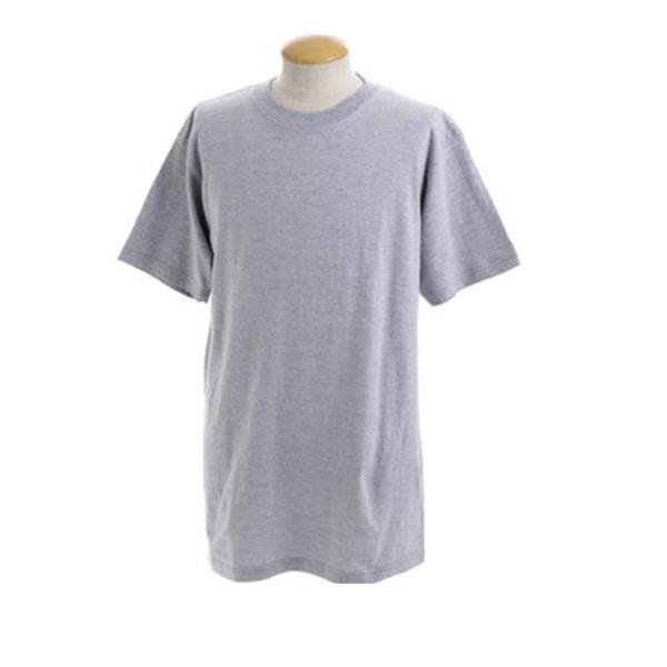 訳あり処分綿100%5.5オンスヘビーウェイト Tシャツ J6650 杢 グレー Sサイズ 【 10枚セット 】 f00