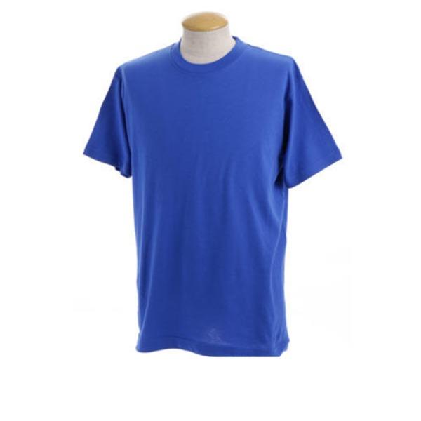 訳あり処分綿100%5.5オンスヘビーウェイト Tシャツ J6650 ロイヤルブルー Lサイズ 【 10枚セット 】 f00