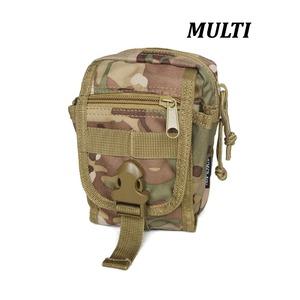 多機能MOLLEバッグ対応防水布使用ポーチBP062YNMULTI