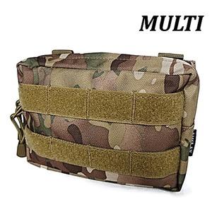 モール対応防水布使用 ウェストポーチ MULTI