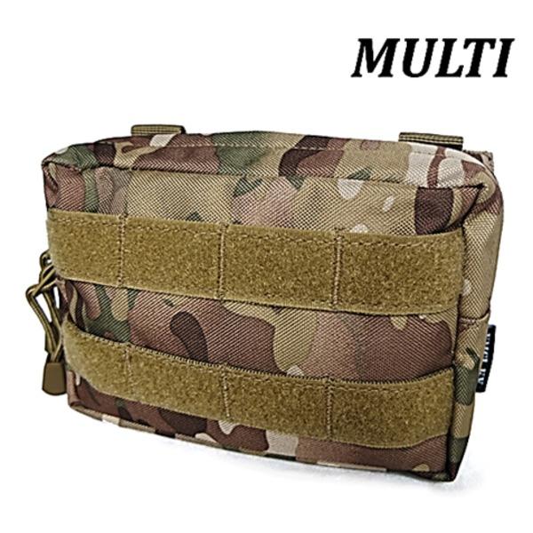 モール対応防水布使用 ウェストポーチ MULTIf00