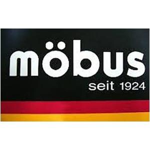 ドイツブランドmobusトップオープン2Pリュック ブラック/ブルー f04
