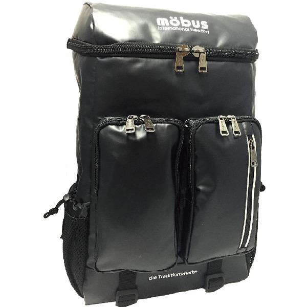 mobusトップオープン2Pリュック ブラック MBX511N
