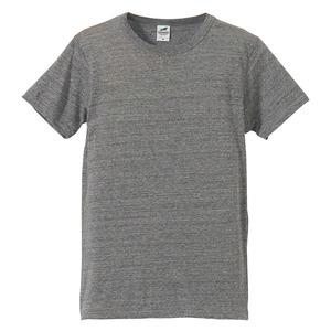 猛暑対策4.4オンスライトウェイトシャンブレー(霜降り)Tシャツ同色3枚セット ビンテージヘザー XL h01