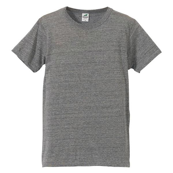 猛暑対策4.4オンスライトウェイトシャンブレー(霜降り)Tシャツ同色3枚セット ビンテージヘザーXSf00