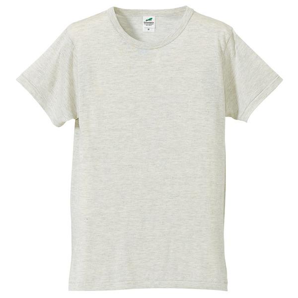猛暑対策4.4オンスライトウェイトシャンブレー(霜降り)Tシャツ同色3枚セット オートミール XSf00