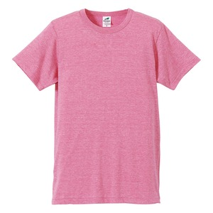 猛暑対策4.4オンスライトウェイトシャンブレー(霜降り)Tシャツ同色3枚セット ビンテージヘザーピンク L h01