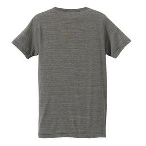 猛暑対策4.4オンスライトウェイトシャンブレー(霜降り)Tシャツ同色3枚セット ヘザーチャコール XS h02