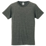 猛暑対策4.4オンスライトウェイトシャンブレー(霜降り)Tシャツ同色3枚セット ヘザーチャコール XL