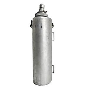 イタリア軍 放出ウォーターボトルアルミ6リッター【中古】