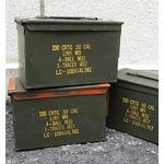アメリカ軍 放出アンモボックスミディアム50CAL【中古】