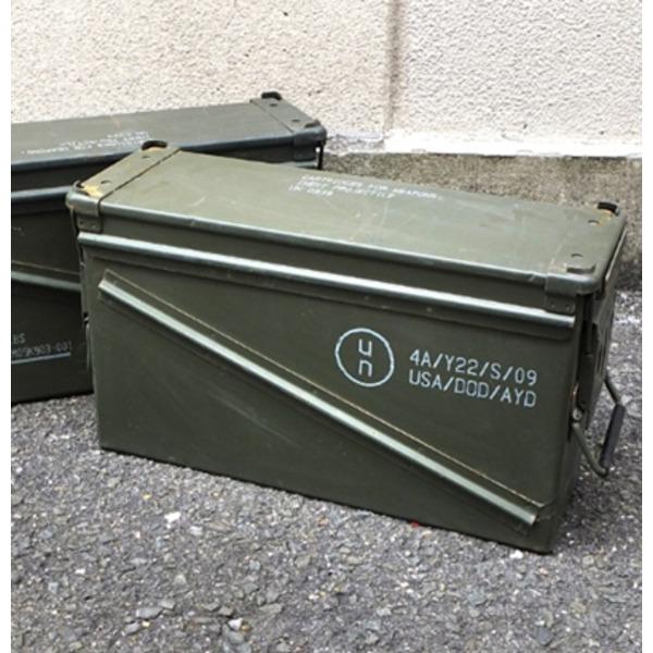 アメリカ軍 放出アンモボックス40MMラージ中古