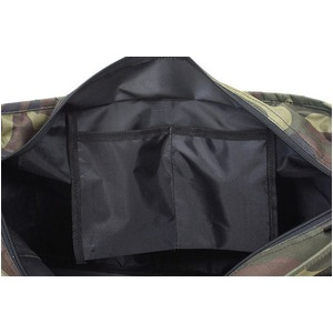 手提げの長さが最大72cm調整出来る600Dポリエステルトートバッグ 横型