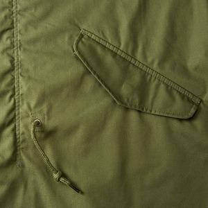 綿混・撥水加工、防風加工、M51モッズコート オリーブ M