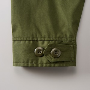 綿混・撥水加工、防風加工、M51モッズコート オリーブ L