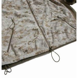 アメリカ軍 海兵隊放出 PO LARTEC フリースジャケット 【Sサイズ 】 デザート 〔未使用デッドストック〕