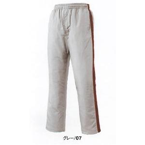 中綿入り撥水加工防寒パンツ M グレー