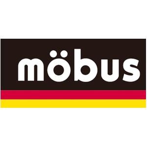 ドイツブランドmobusリフレクタープリントスラブ杢目調トップオープンショルダー&ウェストバック2WAY ネイビー