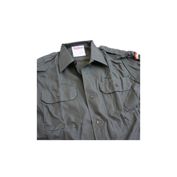 ドイツ軍放出 BW フィールドシャツ JS001NN GR.4(XL)【デットストック】【未使用】