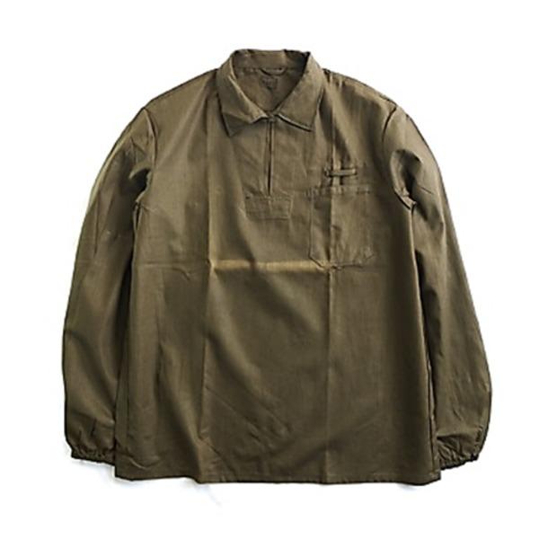 チェコ軍放出プルオーバーブラウンジャケット未使用デットストック L相当
