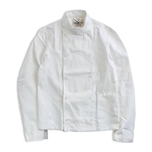 スウェーデン軍放出コックジャケット ホワイト未使用デットストック《50150(M相当》