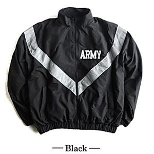 US ARMY IPFU 防風撥水加工大型リフレクタージャケットレプリカ ブラック M