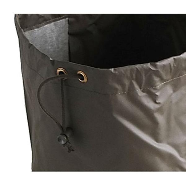 スイス軍放出防水PVC加工ランドリーバック未使用デットストック