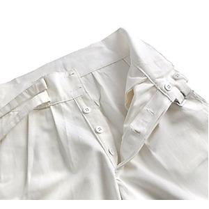 イタリア軍放グルガショーツパンツ未使用デットストック ホワイト 7(72cm)