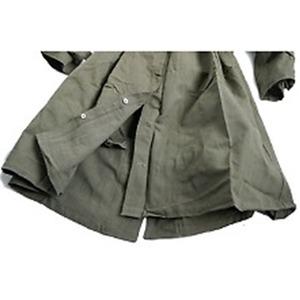 フランスWW2(第二次世界大戦)モーターサイクルオーバーコート未使用デットストック《6(XL相当)》