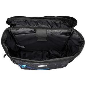 VI SION(ビジョン)ラップトップ収納ポケット&PC用衝撃緩和材入りスクエア型バッグバッグ ブラックJACQUARD CA MO