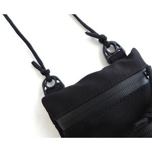 ミリタリー裏防水布ポリエステル600デニール使用ネックポーチ マルチカモ