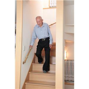 【5個セット】階段手すり滑り止め 『どこでもグリップ』たまご形 軟質樹脂 直径35mm アイボリー シロクマ 日本製