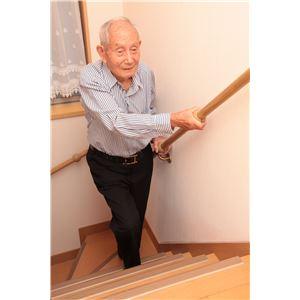 【5個セット】階段手すり滑り止め 『どこでもグリップ』たまご形 軟質樹脂 直径32mm アイボリー シロクマ 日本製